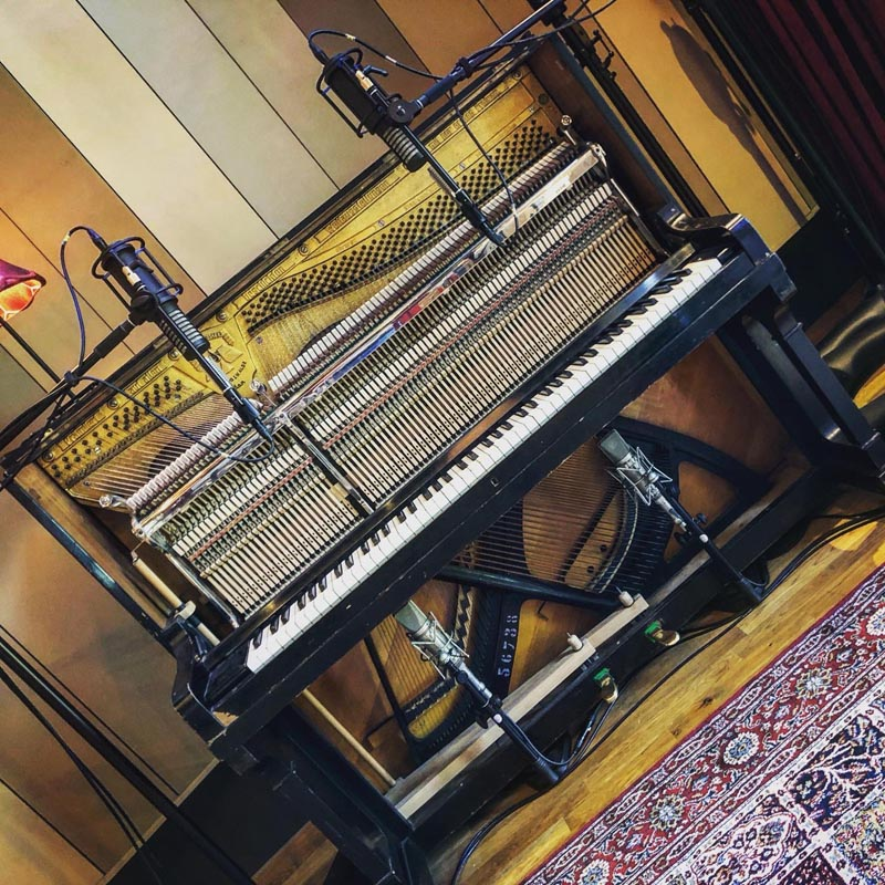 Tall Pine Records (POLAND), Upright Piano Session with RS-2