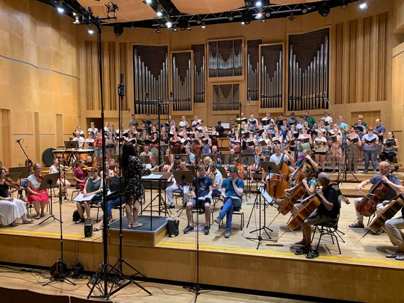 Ars Sonora Studio (POLAND), Orchestra Session with RS-2