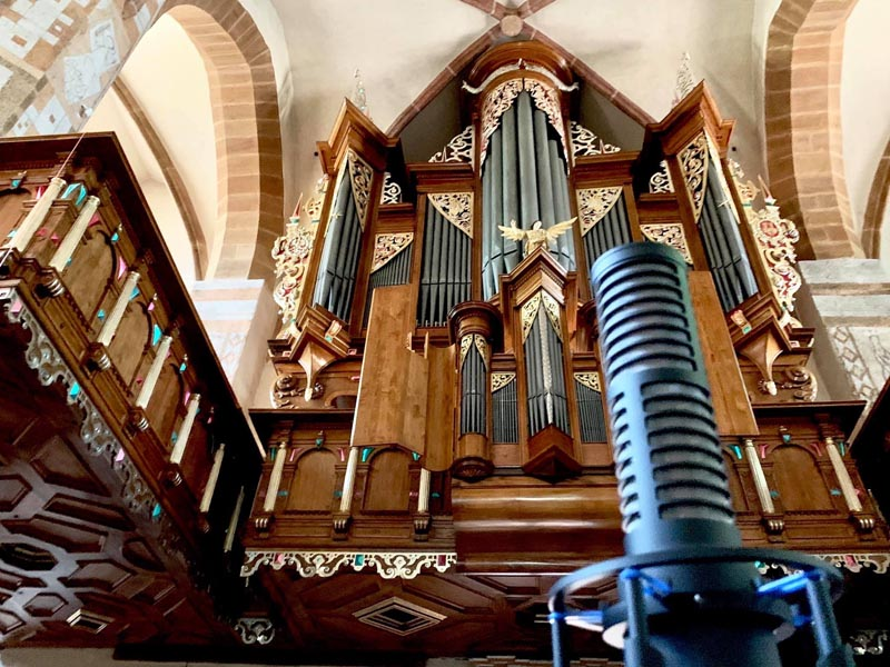 Ars Sonora Studio (POLAND), Pipe Organ Session with RS-2