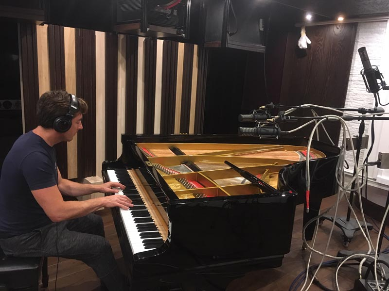 Camey Studio (POLAND), Piano Session with RS-2 and ARM-1S