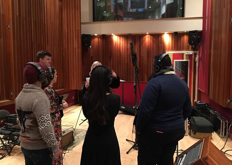 Blackbird Studio (USA), Vocal Session with RS-2