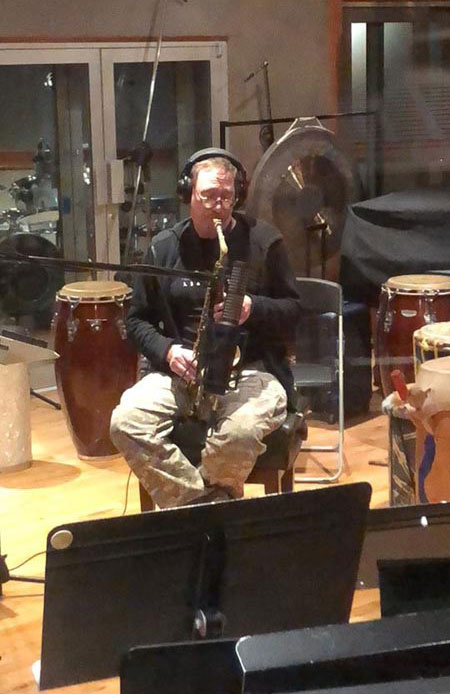 John Zorn, Marc Urselli session with RS-2, East Side Sound Studio, USA