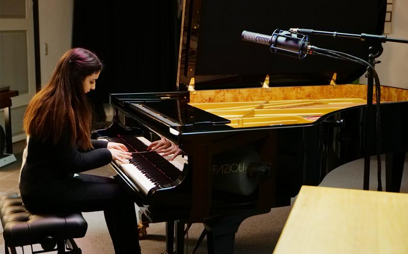 Stockfisch Records (GERMANY), Leyla Zeynalova Piano Session with RS-2