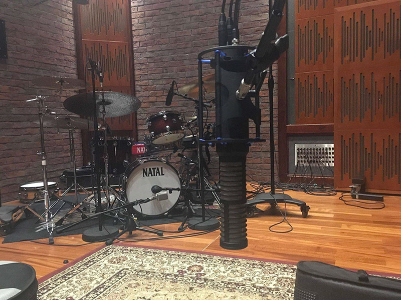 Custom 34 Studio (POLAND), Drum Session with RS-2